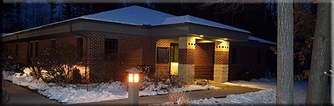 New Township Hall front entrance
