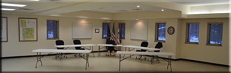 New Township Hall meeting room